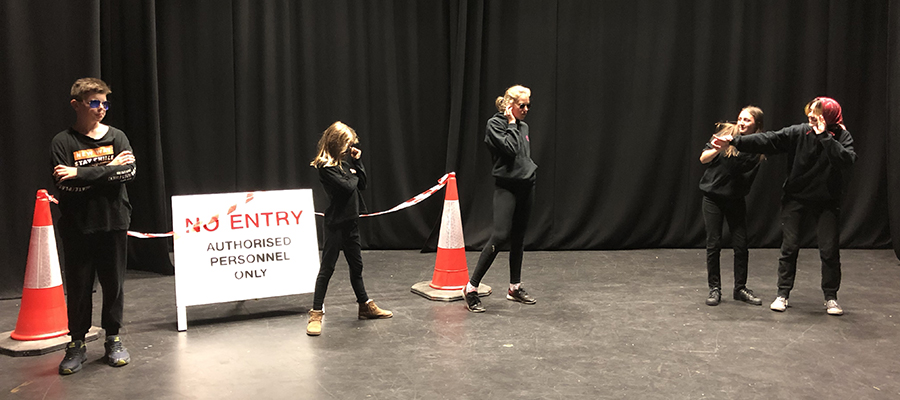 Creative Drama for 11-15 Yr Olds